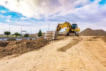 Dirt work in Fargo: excavation by Duval Paving, LLC
