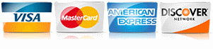 Credit Cards Accepted: