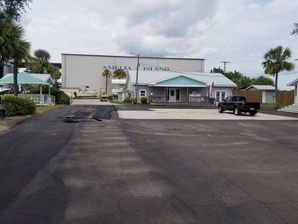 Before & After Commercial Paving in Fernandina Beach, FL at Amelia Island Marina (1)