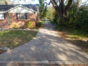 Before and after Paving Jacksonville, FL. (1)