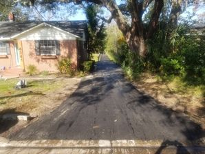 Before and after Paving Jacksonville, FL. (2)
