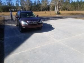 New Concrete Driveway in Green Cove Springs, FL (2)