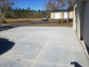 New Concrete Driveway in Green Cove Springs, FL (3)