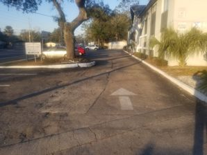 Parking lot Paving at Casa Grande Apartments  in Jacksonville,FL (1)