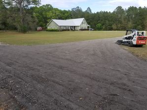 Before and After Asphalt Millings in Alachua, FL (2)