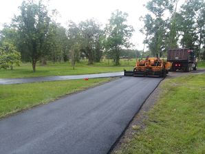 Paving for Dear Field Hunting Club in  St Augustine, Fl (3)