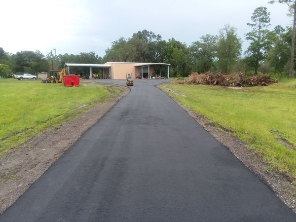 Paving for Dear Field Hunting Club in  St Augustine, Fl (5)