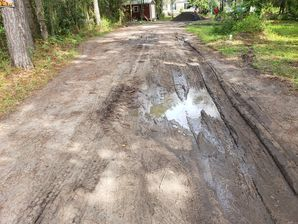 Before & After Asphalt Millings in Jacksonville, FL (1)