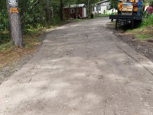 Before & After Asphalt Millings in Jacksonville, FL (2)