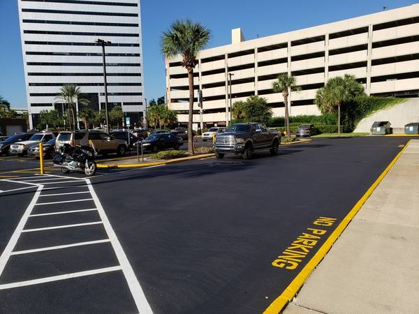 Charles E Bennett Federal Building Parking Lot Paving  Jacksonville, FL (5)