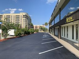 Sealcoating Parking Lot in Downtown Jacksonville (4)