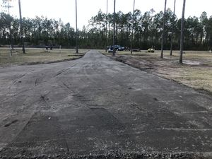 Before & After Recycle Asphalt Milling in Yulee, FL (4)