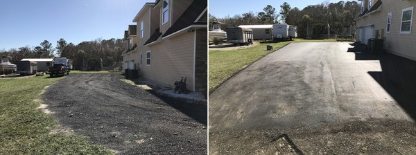 Before & After Paving in Fleming Island, FL (1)