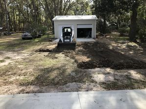 Before & After Asphalt Millings in Yulee, FL (1)