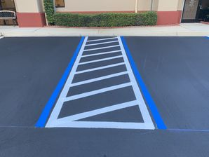 Commercial Parking Lot Sealcoating & Striping in St Augustine, FL (2)