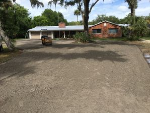 Before, During, & After Asphalt Millings in Ponte Vedra, FL (2)
