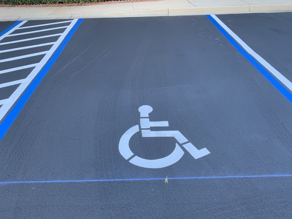 Commercial Parking Lot Sealcoating & Striping in St Augustine, FL (3)